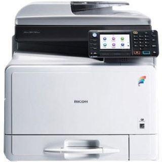 Ricoh Aficio MP C305SPF Farblaser Drucken/Scannen/Kopieren/Faxen