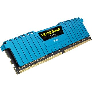 16GB Corsair Vengeance LPX blau DDR4-2133 DIMM CL13 Quad Kit