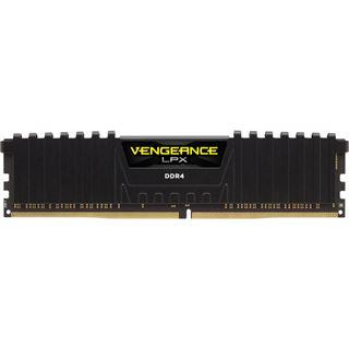 16GB Corsair Vengeance LPX schwarz DDR4-2133 DIMM CL13 Quad Kit