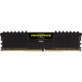 32GB Corsair Vengeance LPX schwarz DDR4-2133 DIMM CL13 Quad Kit