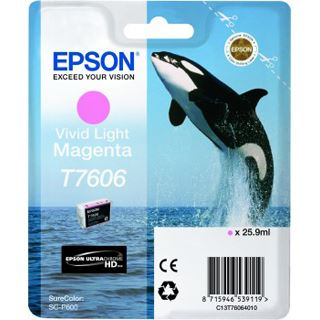 Epson T7606 VIVID hell magenta