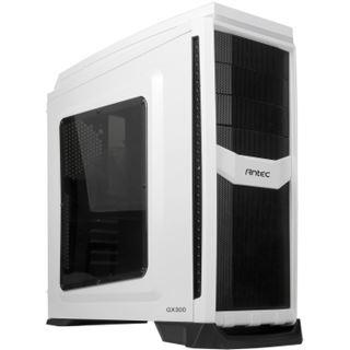 Antec GX300 mit Sichtfenster Midi Tower ohne Netzteil weiss