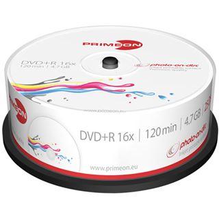 primeon dvd r 4 7 gb bedruckbar 25er spindel 2761225. Black Bedroom Furniture Sets. Home Design Ideas