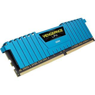 32GB Corsair Vengeance LPX blau DDR4-2666 DIMM CL16 Quad Kit