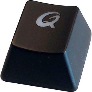 QPad MK-70 Pro CHERRY MX Red PS/2 & USB Deutsch schwarz