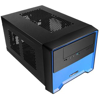 Raidmax Element Mini-ITX ohne Netzteil blau