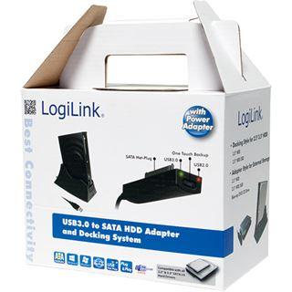 """LogiLink Dockingstation für 1x 3.5"""" oder 2x 2.5"""""""