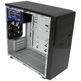 Cooltek MT-01 Mini Tower ohne Netzteil schwarz