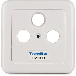 Durchgang TechniSat Antennensteckdose TechniPro RV 600-13 Koax