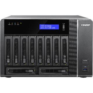 QNAP Turbo Station TVS-EC1080-E3-8G ohne Festplatten