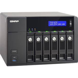 QNAP Turbo Station TVS-671-i5-8G ohne Festplatten
