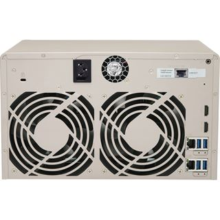 QNAP Turbo Station TVS-863+-8G ohne Festplatten