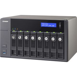 QNAP Turbo Station TVS-871-PT-4G ohne Festplatten