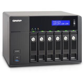 QNAP Turbo Station TVS-671-i3-4G ohne Festplatten