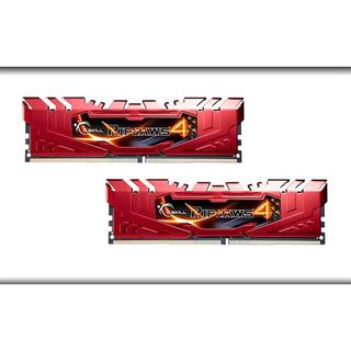 16GB G.Skill RipJaws 4 rot DDR4-2133 DIMM CL15 Dual Kit