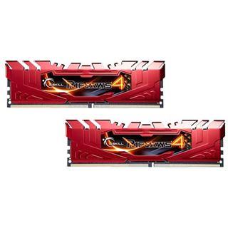 16GB G.Skill RipJaws 4 rot DDR4-2400 DIMM CL15 Dual Kit