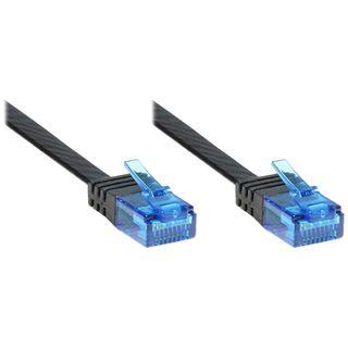 1.50m Good Connections Cat. 6a Patchkabel flach U/UTP RJ45 Stecker