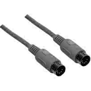 1.80m Good Connections PS/2 Anschlusskabel 5pol DIN Stecker auf 5pol