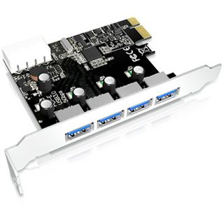 ICY BOX IB-AC614a 4 Port PCIe 2.0 x1 retail