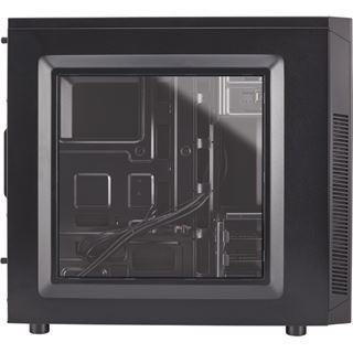 Corsair Carbide 100R mit Sichtfenster Midi Tower ohne Netzteil schwarz