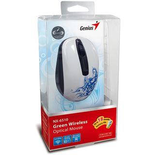 Genius NX-6510 Tattoo USB weiß (kabellos)