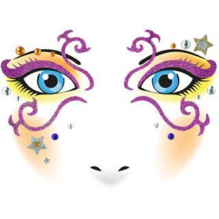 Herma Face Art Sticker Mystery