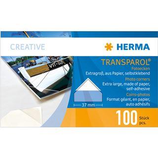 Herma Transparol Fotoecken extra-gross 100St.