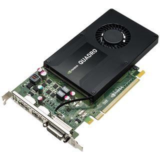 4GB Dell Quadro K2200 Aktiv PCIe 2.0 x16 (Retail)