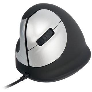 R-GO Tools HE Mouse USB weiß/grau (kabelgebunden)