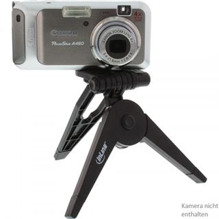 InLine Mini-Stativ 85mm, faltbar, schwarz