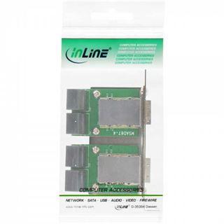 InLine SFF-8088 Slotblech für PCI (27655I)