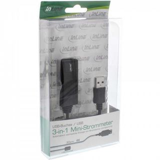 (€12,90*/1m) 1.00m InLine USB2.0 Verlängerungskabel USB A