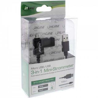 (€6,90*/1m) 1.00m InLine USB2.0 Anschlusskabel USB A Stecker auf