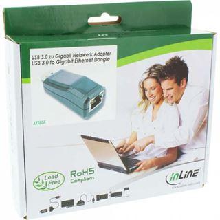 InLine USB 3.0 Netzwerkadapter, Gigabit Netzwerk