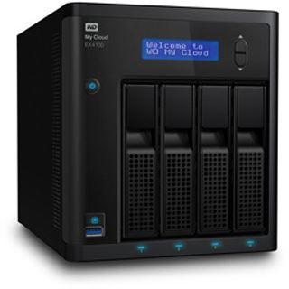 WD My Cloud EX4100 ohne Festplatten