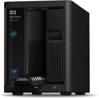 WD My Cloud EX2100 ohne Festplatten