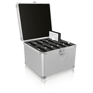 """ICY BOX IB-AC628 Schutzkoffer für 10x 3,5""""/2,5"""" HDD´s"""